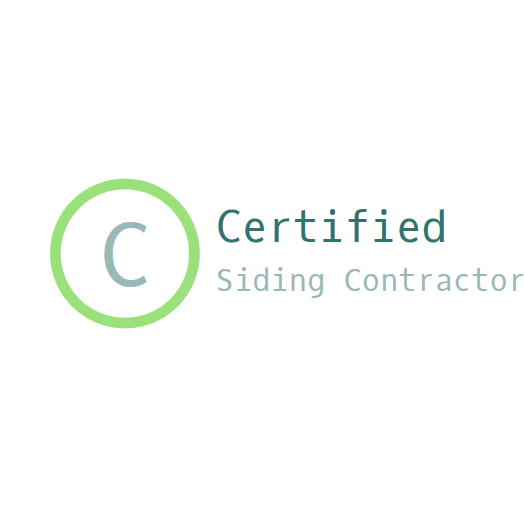 Certified Siding Contractor